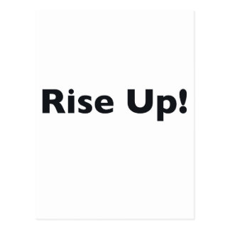 Rise Up! Postcard