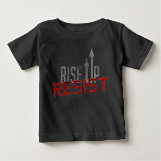 Rise Up, Resist Baby Dark Jersey T-Shirt