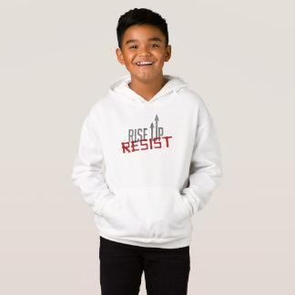 Rise Up, Resist Boy's Hoodie