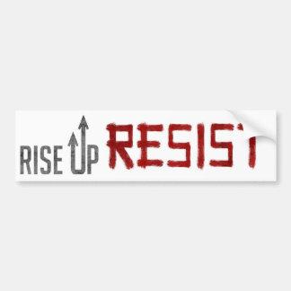Rise Up, Resist Bumper Sticker