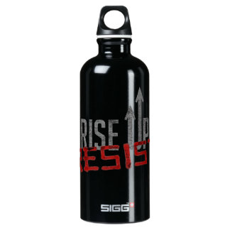 Rise Up, Resist Dark Sigg Water Bottle