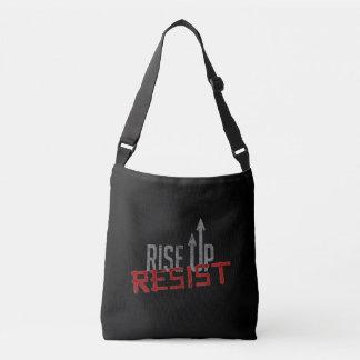 Rise Up, Resist Dark Sling Bag