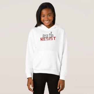 Rise Up, Resist Girl's Hoodie