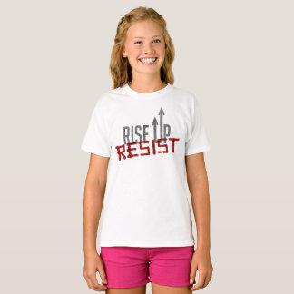 Rise Up, Resist Girl's T-Shirt