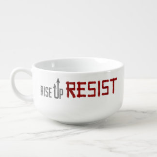 Rise Up, Resist Soup Mug
