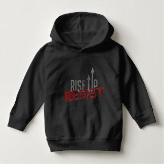 Rise Up, Resist Toddler Dark Hoodie