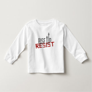 Rise Up, Resist Toddler Long Sleeve T-Shirt