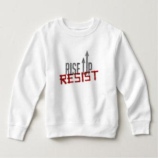 Rise Up, Resist Toddler Sweatshirt