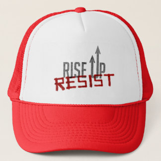 Rise Up, Resist Trucker Hat