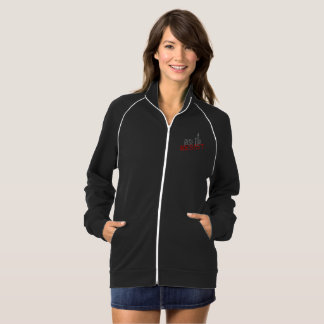 Rise Up, Resist Women's Fleece Track Jacket