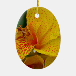 Rise Up Singing Ceramic Oval Ornament