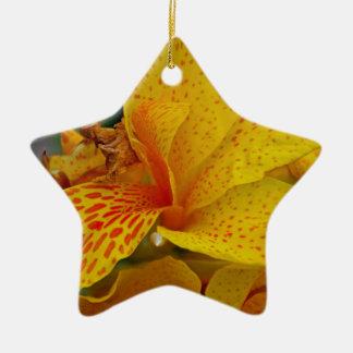 Rise Up Singing Ceramic Star Ornament