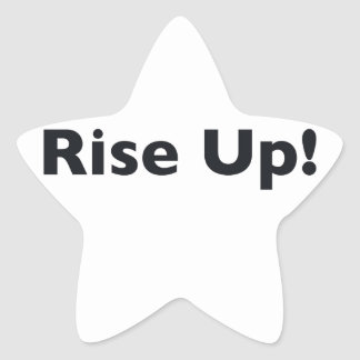 Rise Up! Star Sticker