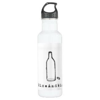 #RiseAndWine Water Bottle