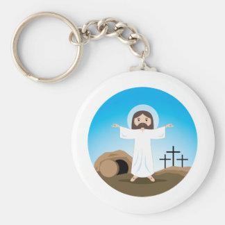 Risen Christ Keychain