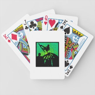 Rising Above Bicycle Playing Cards