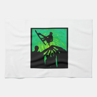 Rising Above Kitchen Towel