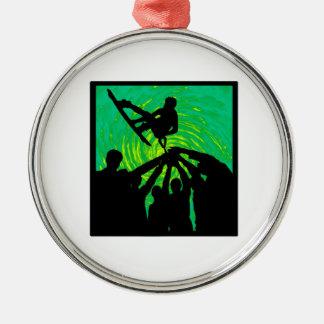 Rising Above Metal Ornament