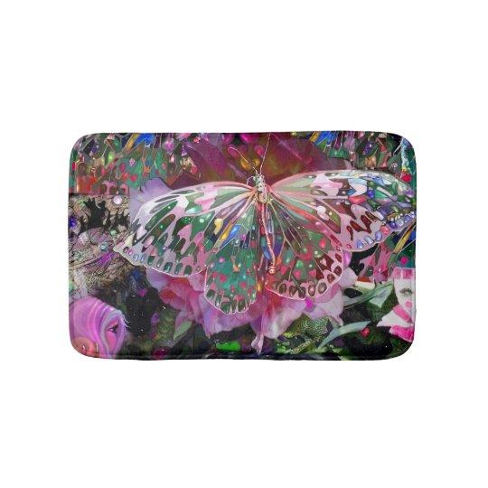 Rising Dawn Butterfly Bath Mat