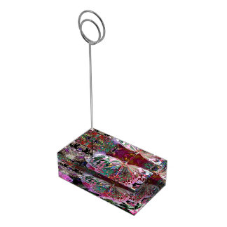 Rising Dawn Butterfly Table Card Holder