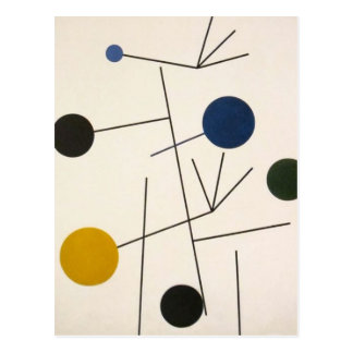 Rising, Falling, Flying by Sophie Taeuber-Arp Postcard