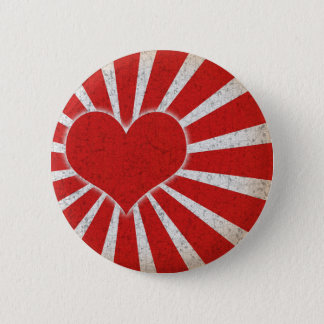 Rising Love 2 Inch Round Button