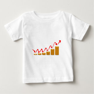 Rising Money Steps Baby T-Shirt