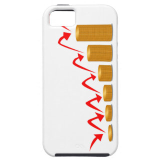 Rising Money Steps iPhone 5 Cover
