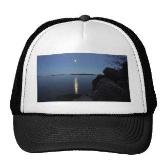 Rising Moon Over Whiskey Bay, St Joseph Island Trucker Hat