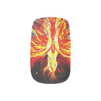 Rising Phoenix Nail Art