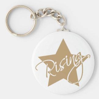 Rising star keychain