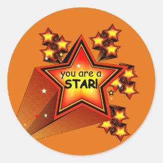 Rising Star Teacher Grading Stickers