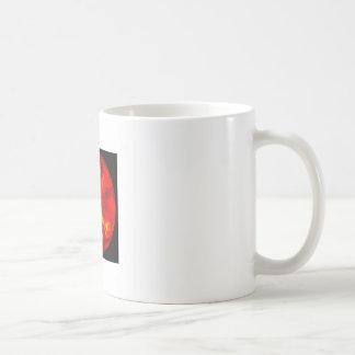 rising sun classic white coffee mug