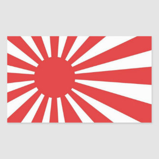 Rising Sun Japanese Flag Stickers