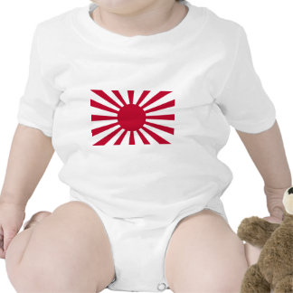 Rising Sun War Flag of the Imperial Japanese Army Bodysuit