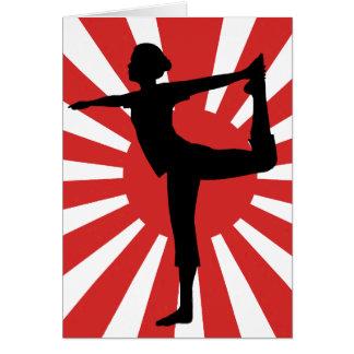 Rising Sun Yoga #1 Dancer Card