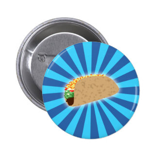 Rising Taco 2 Inch Round Button