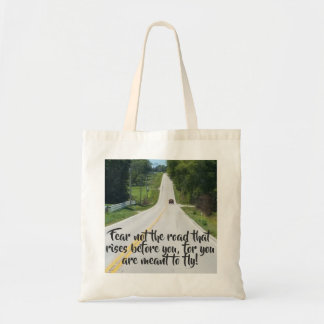 Rising to Meet the Challange Tote Bag