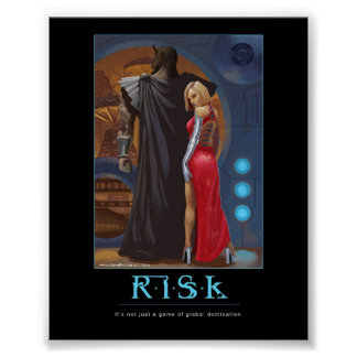 Risk motivatinal poster