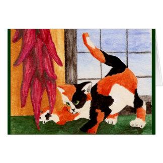Ristra Kitty Card