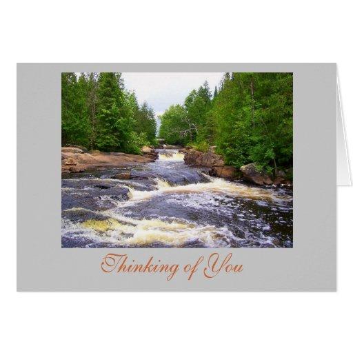 Ritchie Falls Ontario photo Card