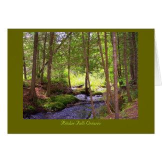 Ritchie Falls photos, Ritchie Falls Ontario Greeting Card