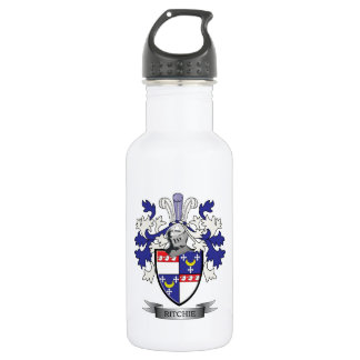 Ritchie Family Crest Coat of Arms 532 Ml Water Bottle