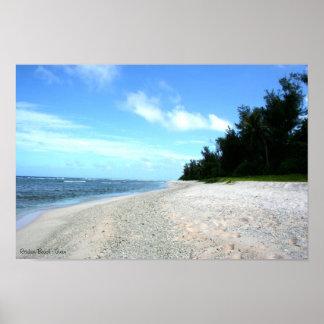 Ritidian Beach - Guam Poster