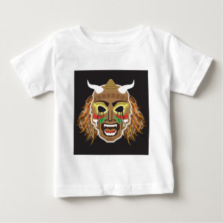 Ritualistic Tribal Mask Vector Baby T-Shirt