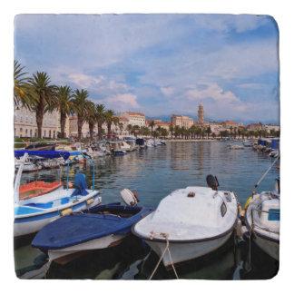 Riva waterfron, Split, Croatia Trivet