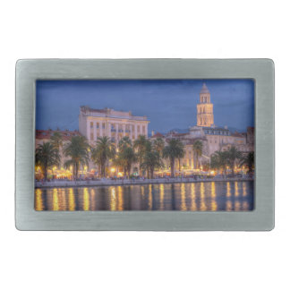 Riva waterfront, Split, Croatia Belt Buckle