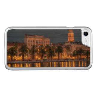 Riva waterfront, Split, Croatia Carved iPhone 8/7 Case