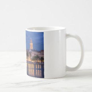 Riva waterfront, Split, Croatia Coffee Mug