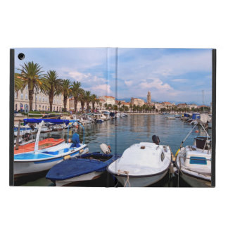 Riva waterfront, Split, Croatia Cover For iPad Air